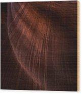 Desert Rain Wood Print by Mike  Dawson
