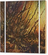 Design 1 Wood Print