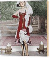 Destry Rides Again, Marlene Dietrich Wood Print by Everett