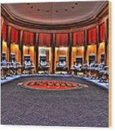 Detroit Pistons Locker Room Auburn Hills Mi Wood Print