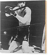 Detroits Brown Bomber, Heavyweight Joe Wood Print by Everett
