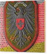 Deutsch Weimarer Shield Wood Print