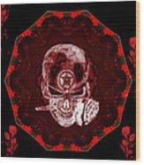 Devils Advocate Wood Print