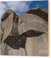 Devil's Den Formation 74 Wood Print by Paul W Faust -  Impressions of Light