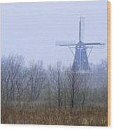 Dezwaan Windmill In Holland Michigan No. 105 Wood Print