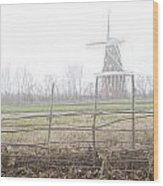 Dezwaan Windmill In Holland Michigan No.232 Wood Print