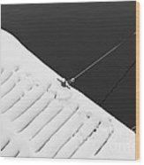 Diagonal Wood Print