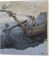 Diamond Mining, Sakha Wood Print