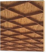 Diamond Pattern Wood Print