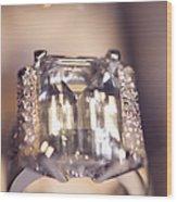 Diamond Ring. Spirit Of Treasure Wood Print