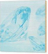 Diamonds Wood Print