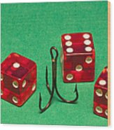 Dice Red Hook 1 A Wood Print