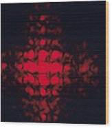 Diffraction Pattern Wood Print