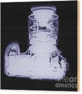 Digital Camera, X-ray Wood Print