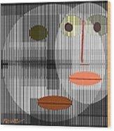 Digital Design 301 Wood Print