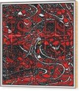 Digital Design 372 Wood Print