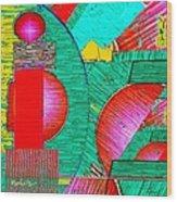 Digital Design 431 Wood Print