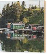 Dildo Newfoundland Wood Print