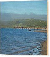 Dillon Beach Pier Wood Print