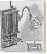 Dimmer Lamp Electrics, 19th Century Wood Print by