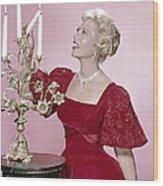 Dinah Shore, 1950s Wood Print by Everett