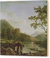 Dinas Bran From Llangollen Wood Print