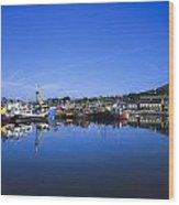 Dingle Harbour, Dingle, Co Kerry Wood Print