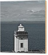 Dingle Peninsula Lighthouse Ireland Wood Print