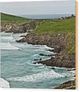 Dingle Peninsula Sea Shore 1 Wood Print