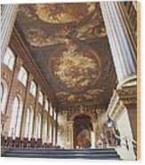 Dining Hall At Royal Naval College Wood Print