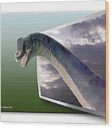 Dinosaur - Oof Wood Print