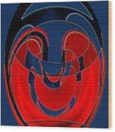Diogenes Lantern Wood Print