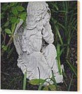 Dirty Little Angel Wood Print