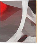 Discordant Wood Print by ME Kozdron