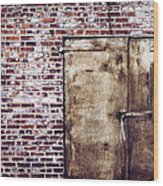 Dismal At Best - Rusty And Crusty Wood Print