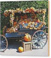 Disneyland Halloween 2 Wood Print