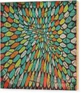 Disperse Wood Print by Ankeeta Bansal