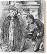 Disraeli Cartoon, 1876 Wood Print