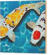 Ditsu Koi Wood Print
