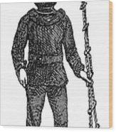 Diving Suit, 1855 Wood Print