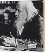Dmitry Ivanovich Mendeleyev Wood Print