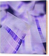 Dna Electrophoresis Gels, Artwork Wood Print