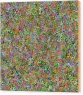 Dna Fragments Wood Print