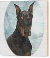 Doberman Pinscher 100  Wood Print
