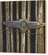 Dodge Brother Emblem Wood Print
