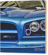 Dodge Charger Front Wood Print