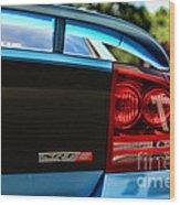 Dodge Charger Srt8 Rear Wood Print