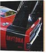 Dodge Daytona Fin 02 Wood Print