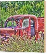 Dodge Pickup Truck Wood Print