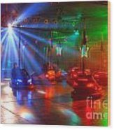 Dodgems Wood Print